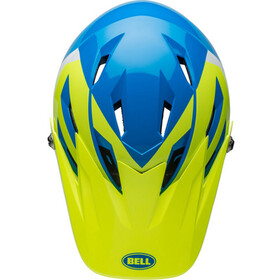 Bell Sanction Full-Face Helmet force blue/retina sear